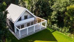 Maja ehitamine kitsale krundile Eestis